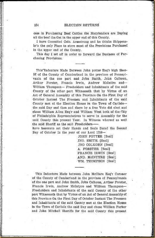 Francis Irwin Series 6 Volume XI Page 154
