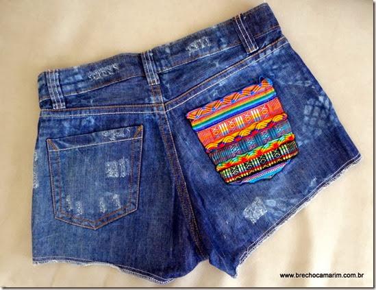 short jeans Farm Brecho Camarim-003