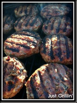 tangy meatloaf burgersjust grillin