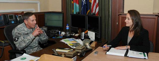 David Petraeus et Paula Broadwell