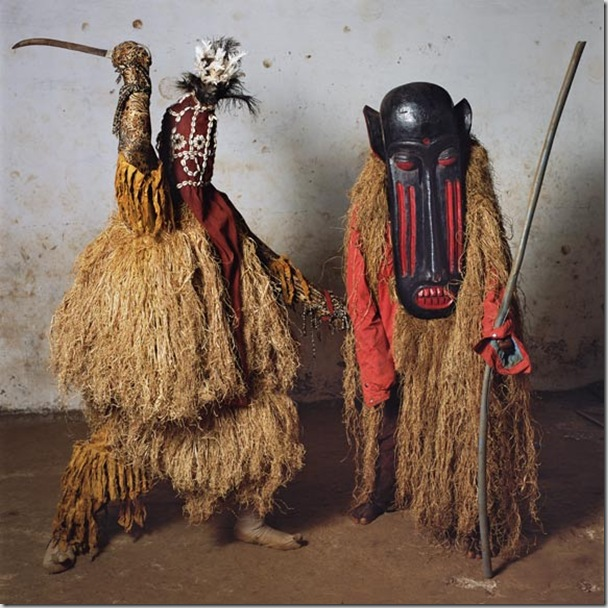 Mathom (Limba Devil) and Ghongorli, National Dance Troupe, Aberd