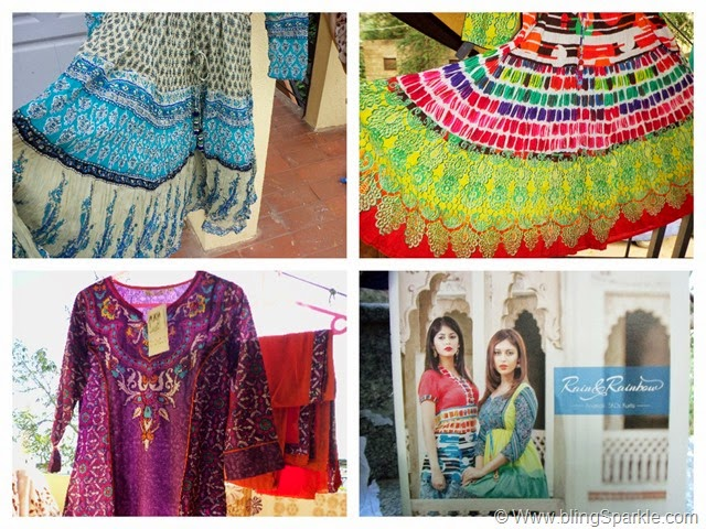 Anarkali suits and kurtas