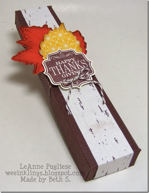LeAnne Pugliese WeeInklings Fall Candy Holder