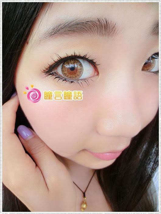 日本EOS隱形眼鏡-Baby Doll混血娃娃咖8