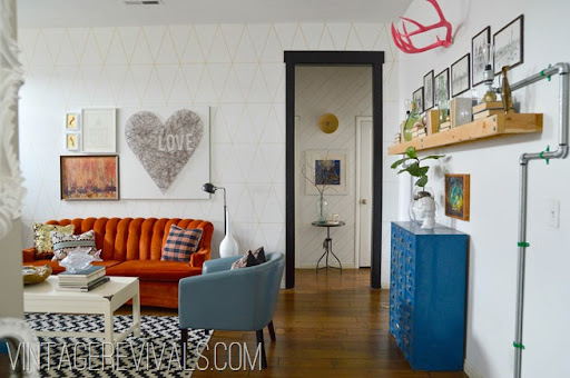 98 ideas Living Room Vintage on vouumcom