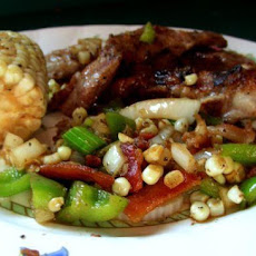 Maple-Glazed Pork Chops With Roasted Corn Relish