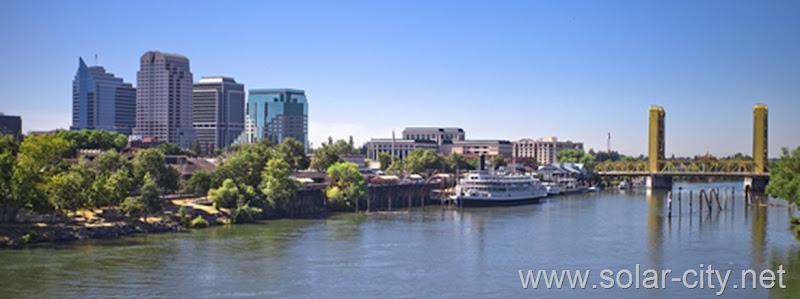 Sacramento solar city