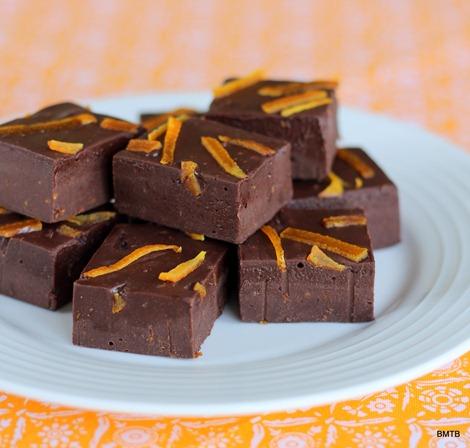 Orange Chocolate Fudge