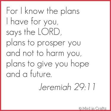 jeremiah 29 11