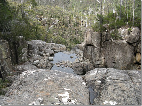 Top of Wellington Falls