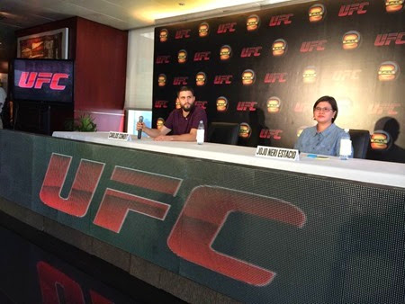 Annual UFC Press Tour with Carlos Condit