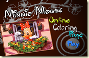 Minnie Mouse Online Coloring Page