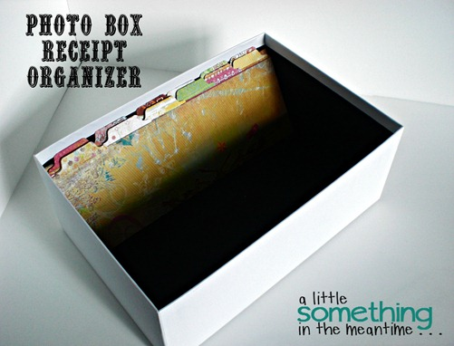 Photo Box Receipt Organizer