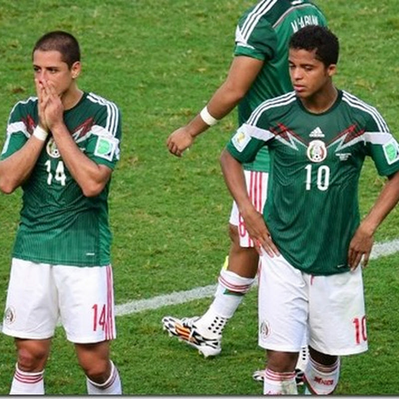 Holanda destroza sueño mexicano en un suspiro y ya está en cuartos #Brasil2014