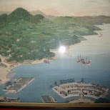 dejima island - only the dutch were allowed to trade with the shogun in Amsterdam, Noord Holland, Netherlands
