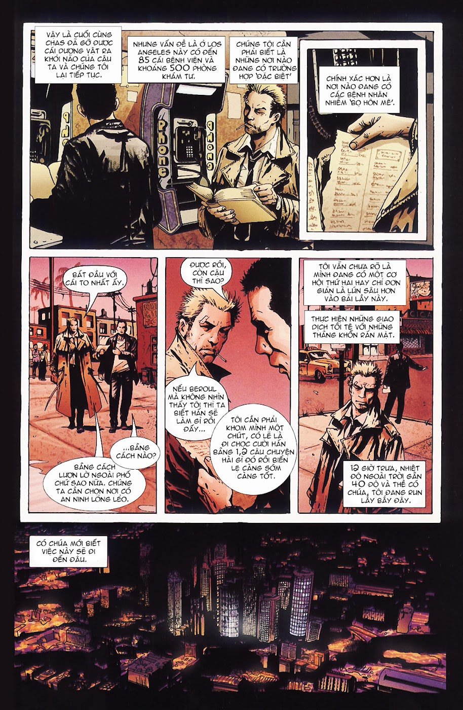 Constantine - All his engines chap 5 - Trang 6