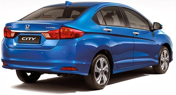 Malaysia-2014-Honda-City-rear