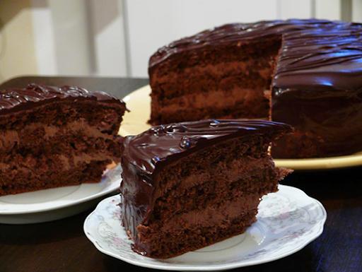 шоколадный торт как в детстве рецепт