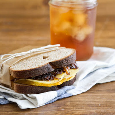 Butternut Squash and Balsamic Onion Sandwich