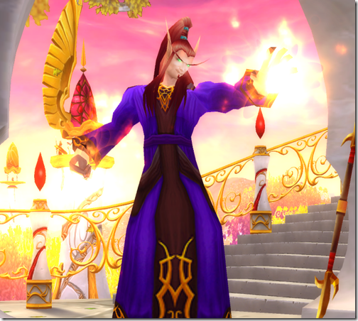 World of Warcraft Blood Elf Mage