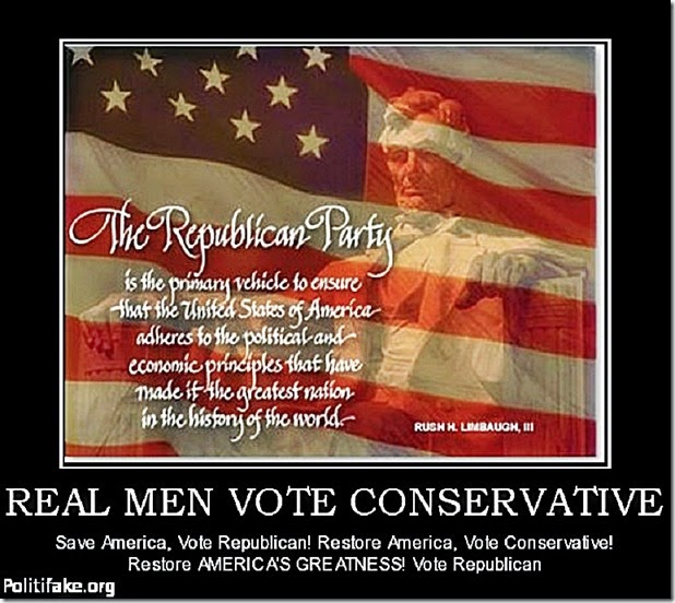 Vote Conservative Republican