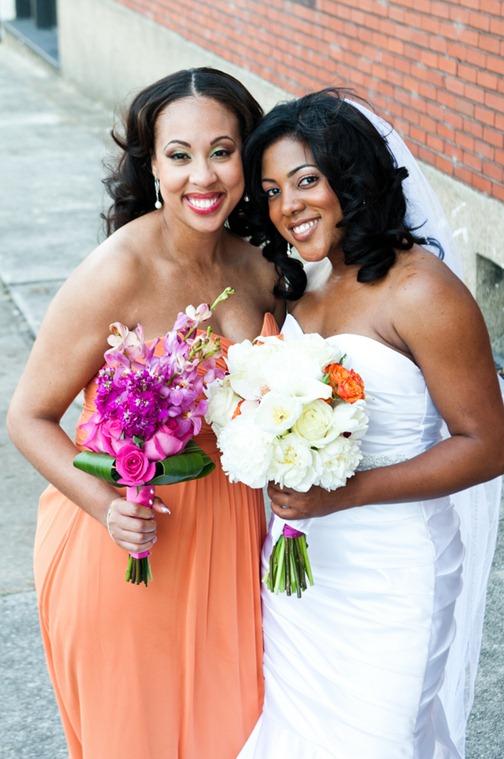 Casamento Moderno - Laranja e Pink (8)
