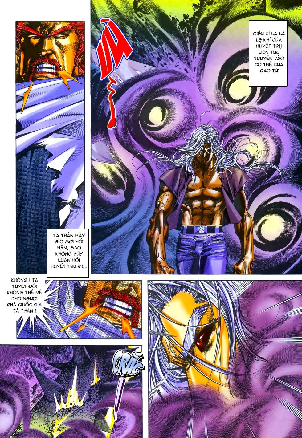 X Bạo Tộc chap 69 - Trang 16