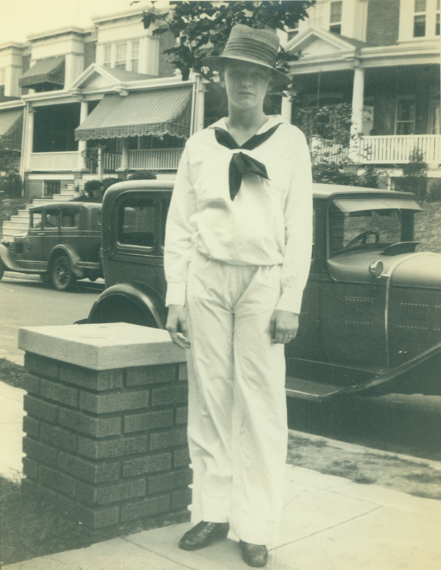 Reed Erickson at 10 or 11 years old. Circa 1928.