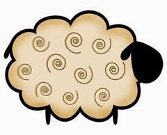 выреанки овцы для окон 2015