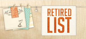 Stampin' Up! Retiring list