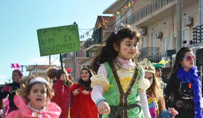 Παιδικό καρναβάλι στο Ληξούρι