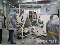 Opleiding Fabriek Dacia Lodgy 05