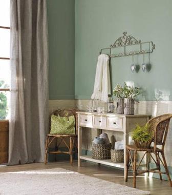 Decoracion-pintura-paredes-color-verde-casa-de -lujo