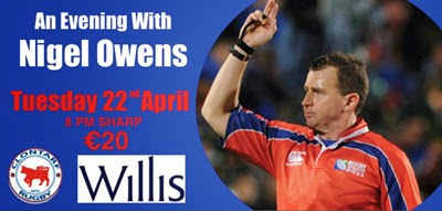 An Evening with Nigel Owens