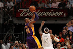 lebron james nba 130210 mia vs lal 18 LeBron Sets NBA Record of 6 Games with 30+ Points & 60+% FG