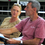 Vicki and Lloyd, very concern rseidents abutting development
