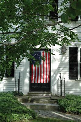 独立初期の星条旗.星の数が13個