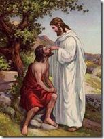 Jesus cura o surdo