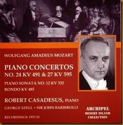 Mozart 27 Casadesus Barbirolli