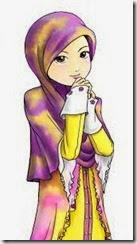 muslimah kartun