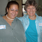 Sr. Marybeth Martin and Nilda at a Chicago Women's Retreat 2010