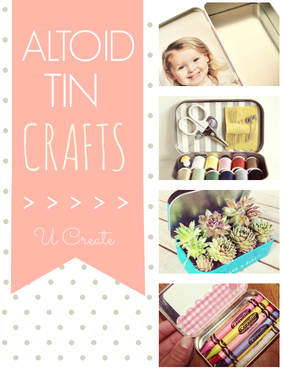 Many Crafts to Make Using an Altoid Tin or Container - U Create