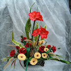 Z kwiatów suchych i sztucznych