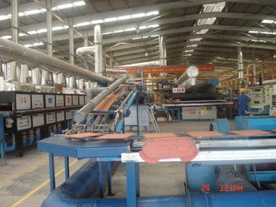Sản xuất gạch gốm xuất khẩu