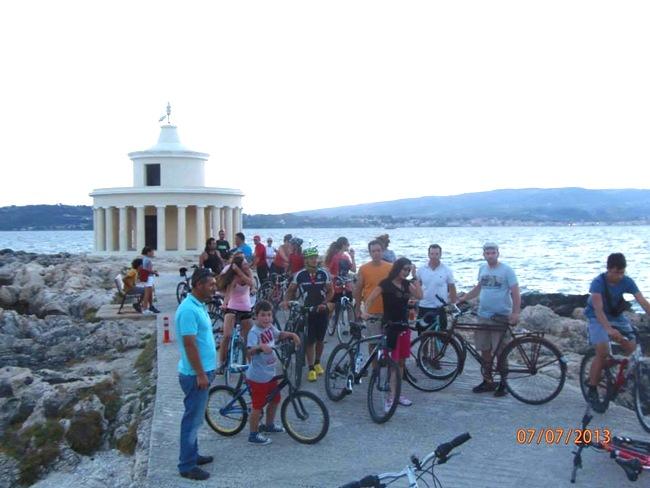 2η ποδηλατοβόλτα στο Αργοστόλι (21.7.2013)