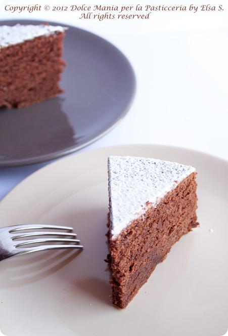 Torta Cioccolato senza glutine 2