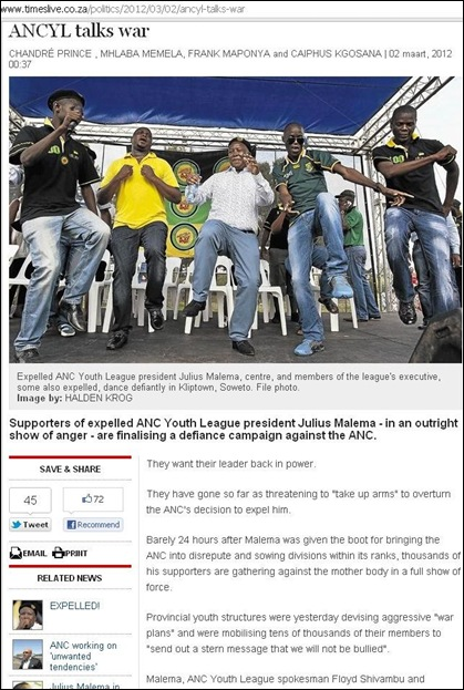 ANCYL TALKS WAR MARCH 3 2012