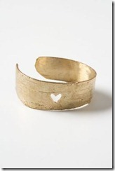 Heart Birch Cuff Anthropologie