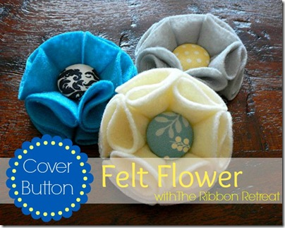 Covered-Button-Felt-Flowers