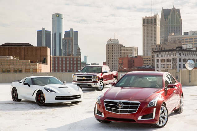 Cadillac and Chevrolet Nominated as Finalists for 2014 North American Car and Truck of the Year